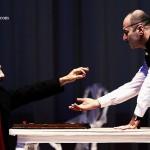 داریوش موفق و حمید ابراهیمی در تئاتر حضرا والا